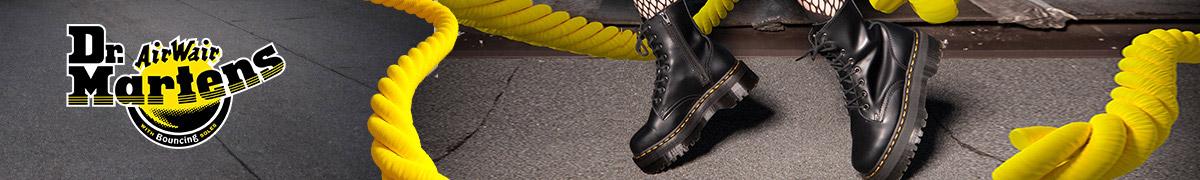 Dr Martens 1460 Læder Klassisk Airwair 8 Øje Herre Støvler Sort