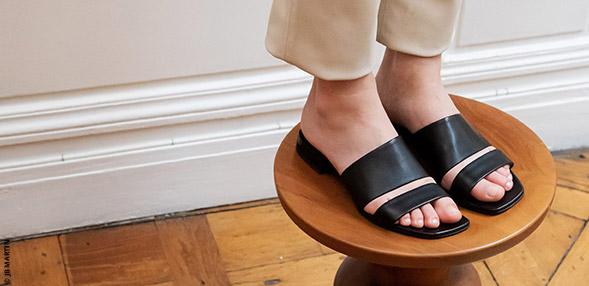 Søde tøfler og sandaler